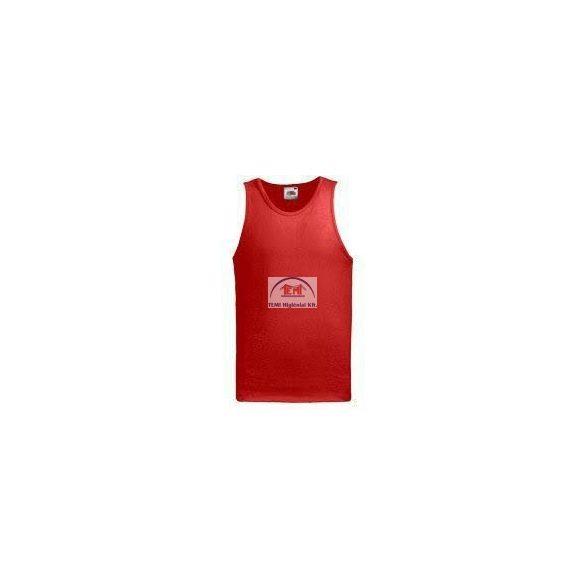 Póló FOL Athletic Vest Red L
