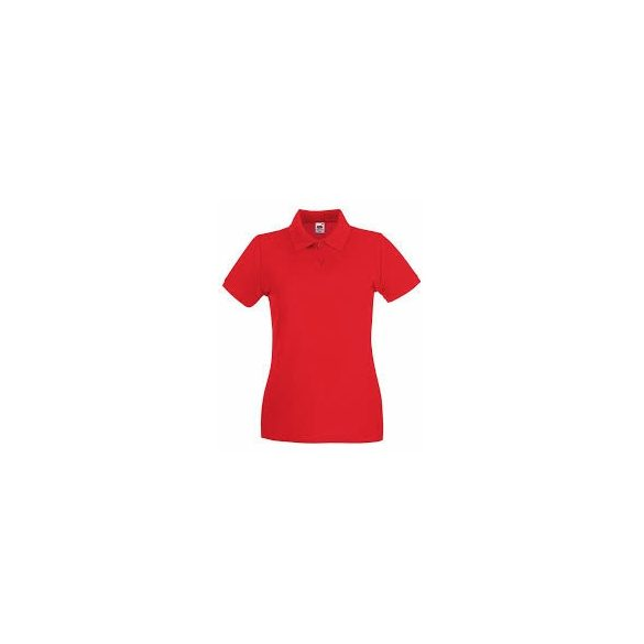 Póló FOL Lady Fit Premium piros S gallér