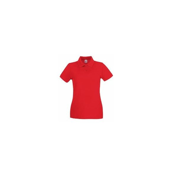Póló FOL Lady Fit Premium piros XL gallé