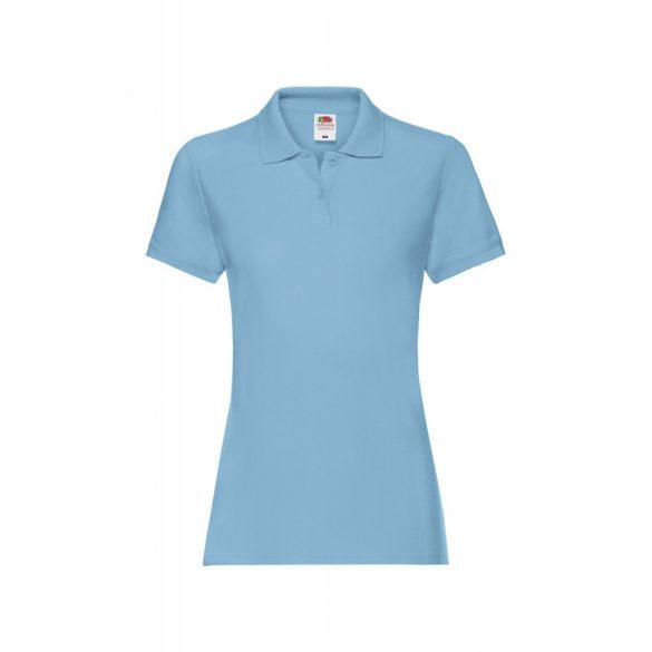 Póló FOL Lady Fit Premium v.kék L gallér