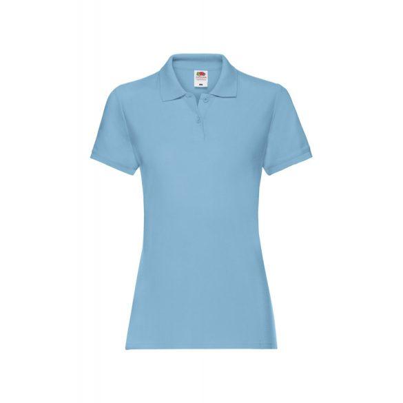 Póló FOL Lady Fit Premium v.kék S gallér