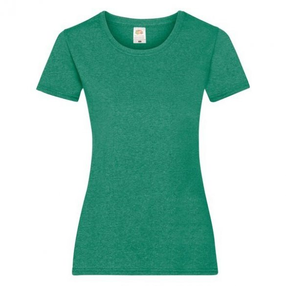 Póló FOL Lady Fit Valueweight T Green L
