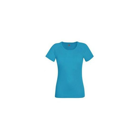 Póló FOL Lady Fit Valueweight T v.kék L