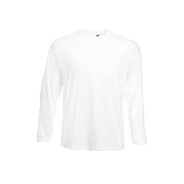 Póló FOL Valueweight Long T fehér XL