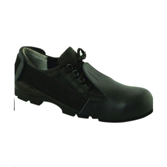 Cipővédő bőr acélkaplis
