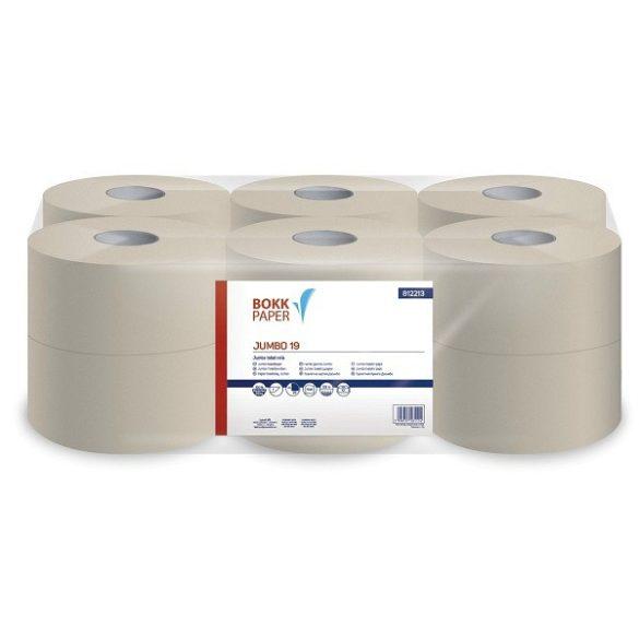 Toalettpapír 19 Jumbo natúr
