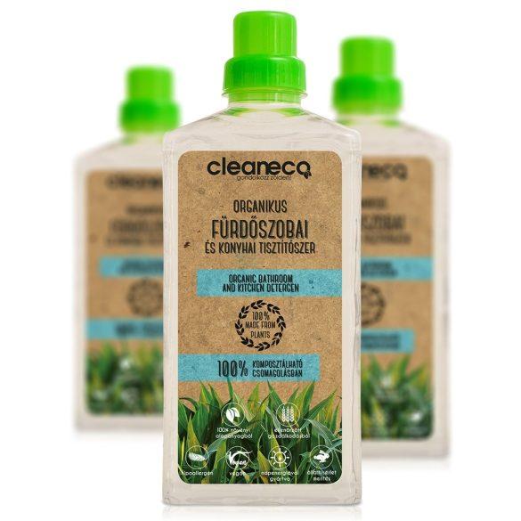 Cleaneco fürdőszobai és konyhai tisztító 1L