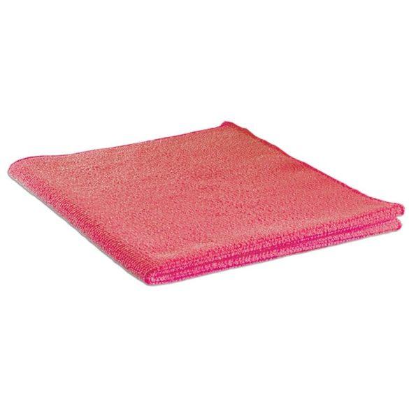 Törlőkendő mikroszálas 40x40 piros CLE 347A
