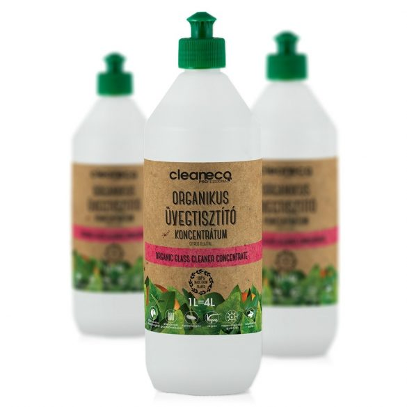 Cleaneco organikus üvegtisztító koncentrátum 1L