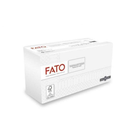 Szalvéta Le Carezze 38x38 Fehér 1/8 82740000 (24)