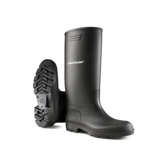 Csizma Dunlop 955 fekete PVC 43 380PP