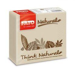 Szalvéta FATO Drink Natural 25x25 (38)  822140000