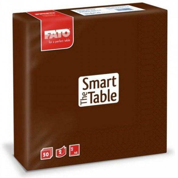 Szalvéta FATO Smart Table 33x33 Csokoládé (24)