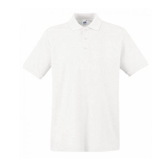 Póló FOL Premium galléros fehér XS