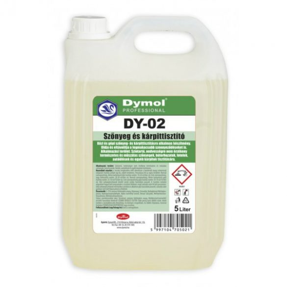Dymol DY-02 szőnyegtisztító koncentrátum 5L