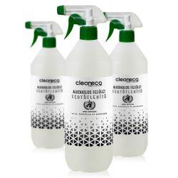 Cleaneco Alkoholos felület fertőtlenítő 1l szórófejjel