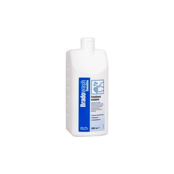 BradoWash bőrkímélő folyékony szappan 1L Sensitive