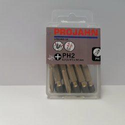 """Projahn 1/4"""" Star bitfej L25mm PH2 10db (178002-10)"""