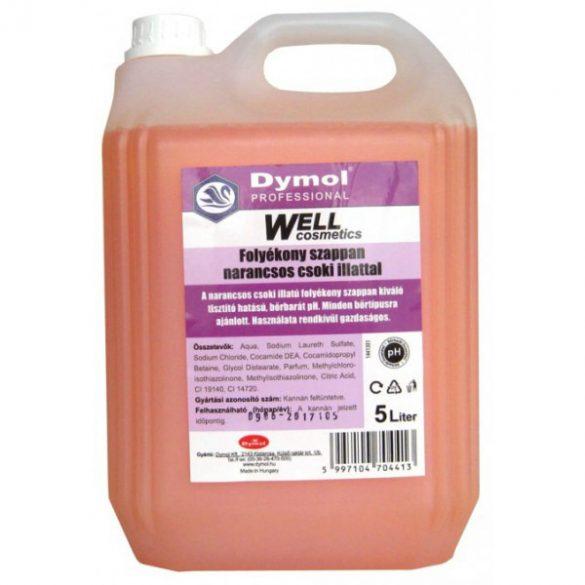 Dymol Well folyékony szappan narancs-csoki 5L