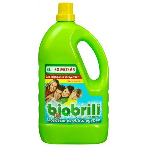 Brilliance Biobrill Öko Mosószer és öblítő egyben 3L
