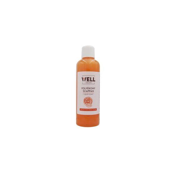Dymol Well folyékony szappan narancs-csoki 1L