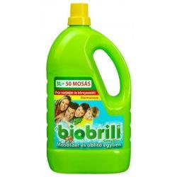 Brilliance Biobrill Öko Mosószer és öblítő egyben 3L Illatmentes
