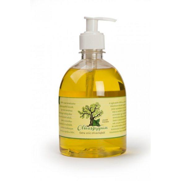 Brilliance Öko Oliva szappan 500ml citromfű illat