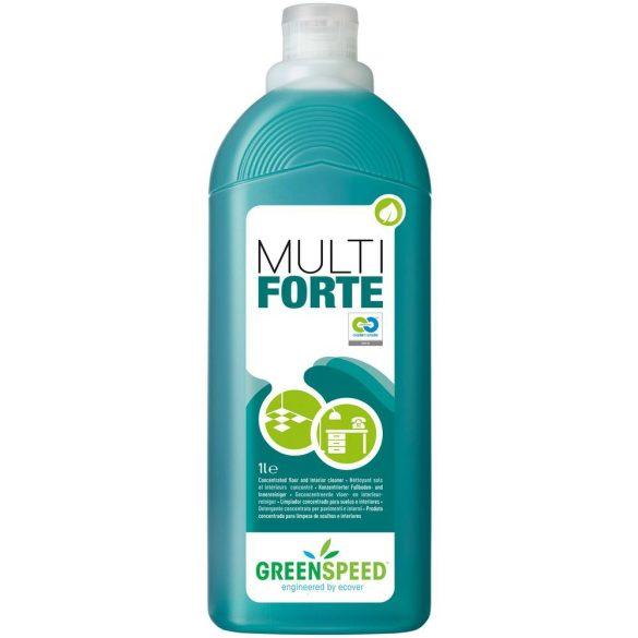 Greenspeed Multi Forte erős univerzális tisztítószer koncentrátum 1L