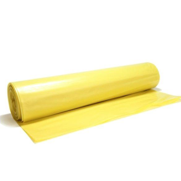 Hulladékzsák 50x60 sárga 13mik