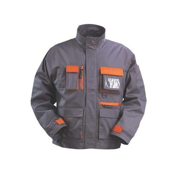 Kabát Paddock szürke-narancs 48/50 L
