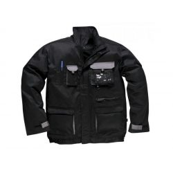 Kabát TX10 L fekete-szürke PW