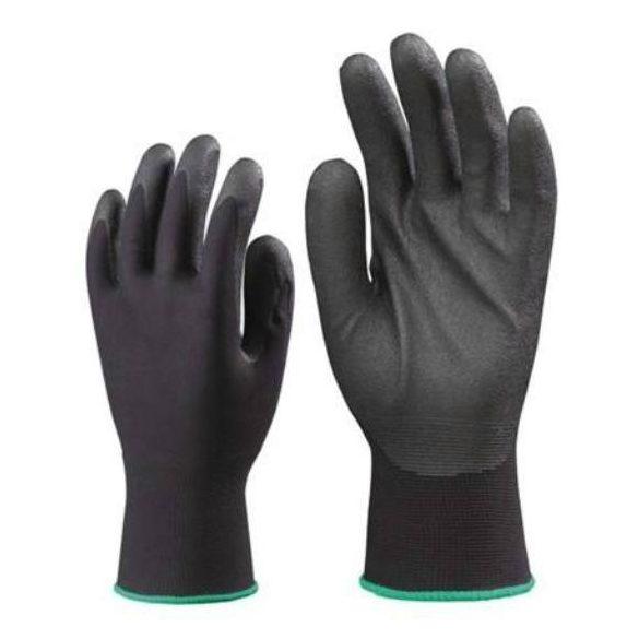 Kesztyű nitril mártott fekete10(XL) Bunting