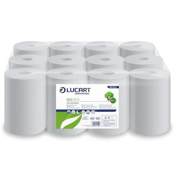 Kéztörlő papír belső tekerésű ECO 14CF 80%