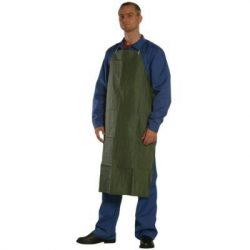 Kötény Saválló PVC zöld 110x75 56175