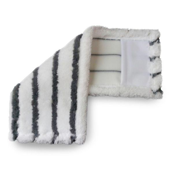 Mikromop 40 Zsebes fehér-szürke