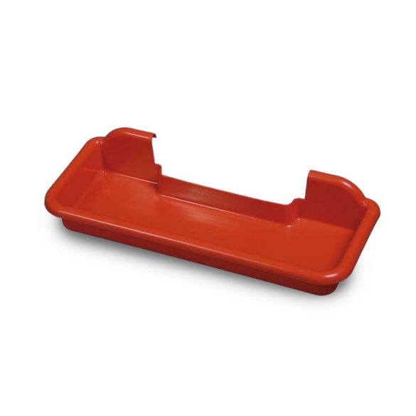 Mop tálca piros műanyag TT007
